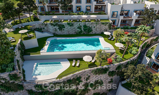 New apartments for sale in a unique Andalusian village complex, Benahavis - Marbella. Phase 1: ready to move in 21463