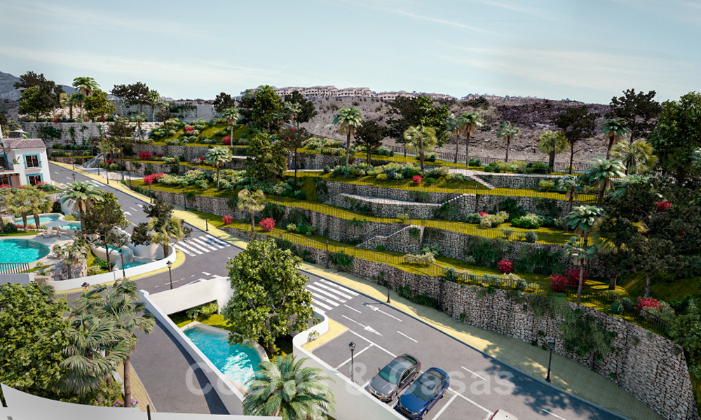 New apartments for sale in a unique Andalusian village complex, Benahavis - Marbella. Phase 1: ready to move in 21467