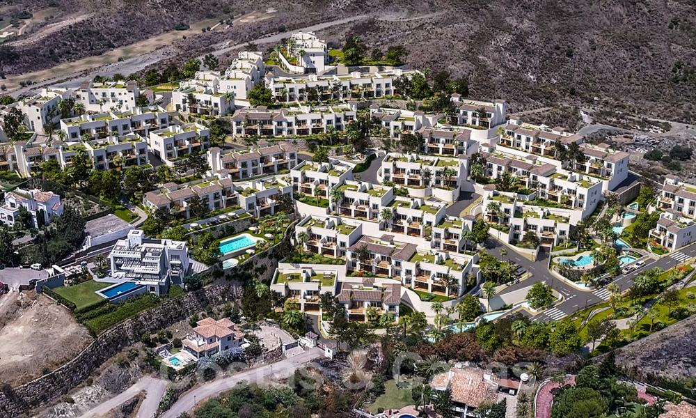 New apartments for sale in a unique Andalusian village complex, Benahavis - Marbella. Phase 1: ready to move in 21471