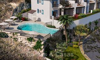 New apartments for sale in a unique Andalusian village complex, Benahavis - Marbella. Phase 1: ready to move in 21474