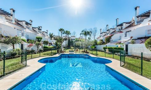 Spacious townhouse for sale, walking distance to amenities and Puerto Banus in Nueva Andalucia, Marbella 21491