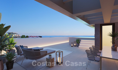 New modern luxury apartments with sea views for sale on the New Golden Mile between Marbella and Estepona 21540