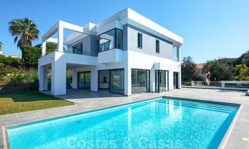 Exquisite new contemporary villa for sale, ready to move into, East Marbella 21767