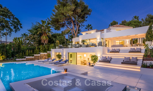 Very stylish contemporary luxury villa in the heart of the Golf Valley for sale, move-in ready - Nueva Andalucia, Marbella 21838