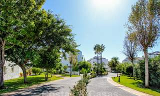 Recently renovated bright apartment for sale in a gorgeous beachfront complex, walking distance to the beach, amenities and San Pedro, Marbella 21945