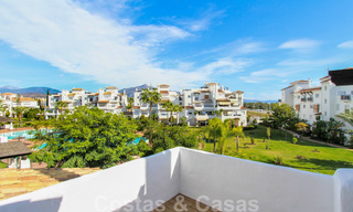 Recently renovated bright apartment for sale in a gorgeous beachfront complex, walking distance to the beach, amenities and San Pedro, Marbella 21949