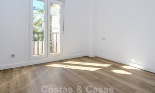 Recently renovated bright apartment for sale in a gorgeous beachfront complex, walking distance to the beach, amenities and San Pedro, Marbella 21957