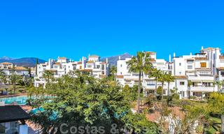 Recently renovated bright apartment for sale in a gorgeous beachfront complex, walking distance to the beach, amenities and San Pedro, Marbella 21962