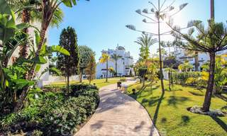 Recently renovated bright apartment for sale in a gorgeous beachfront complex, walking distance to the beach, amenities and San Pedro, Marbella 21971