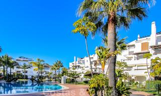 Recently renovated bright apartment for sale in a gorgeous beachfront complex, walking distance to the beach, amenities and San Pedro, Marbella 21972