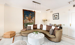 Impressive south facing penthouse with stunning sea views for sale in the Golf Valley of Nueva Andalucia, Marbella 22091