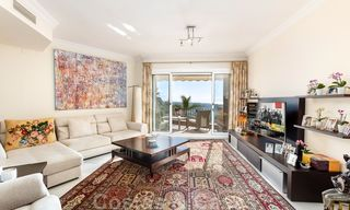 Impressive south facing penthouse with stunning sea views for sale in the Golf Valley of Nueva Andalucia, Marbella 22092