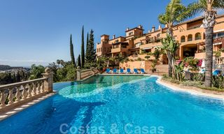 Impressive south facing penthouse with stunning sea views for sale in the Golf Valley of Nueva Andalucia, Marbella 22110