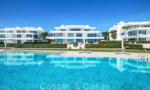 Private resale! Ultra deluxe avant garde beach front apartment for sale in an exclusive complex on the New Golden Mile, Marbella - Estepona 21999