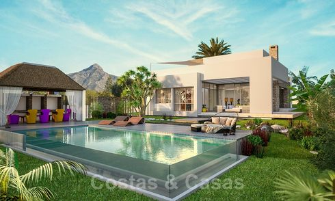 Sumptuous brand new luxury villas in the heart of the Golf Valley of Nueva Andalucia, Marbella 22143