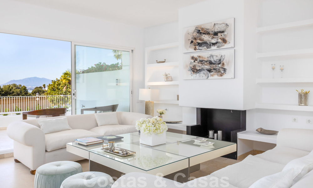 Superb luxury penthouse apartment for sale, with fantastic sea views and within walking distance to the beach, East Marbella 22234