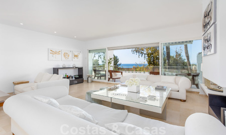 Superb luxury penthouse apartment for sale, with fantastic sea views and within walking distance to the beach, East Marbella 22236