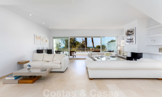 Superb luxury penthouse apartment for sale, with fantastic sea views and within walking distance to the beach, East Marbella 22237