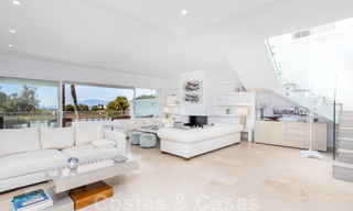 Superb luxury penthouse apartment for sale, with fantastic sea views and within walking distance to the beach, East Marbella 22238
