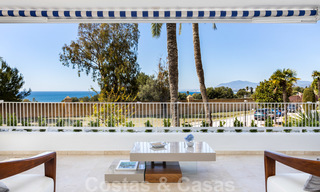Superb luxury penthouse apartment for sale, with fantastic sea views and within walking distance to the beach, East Marbella 22239