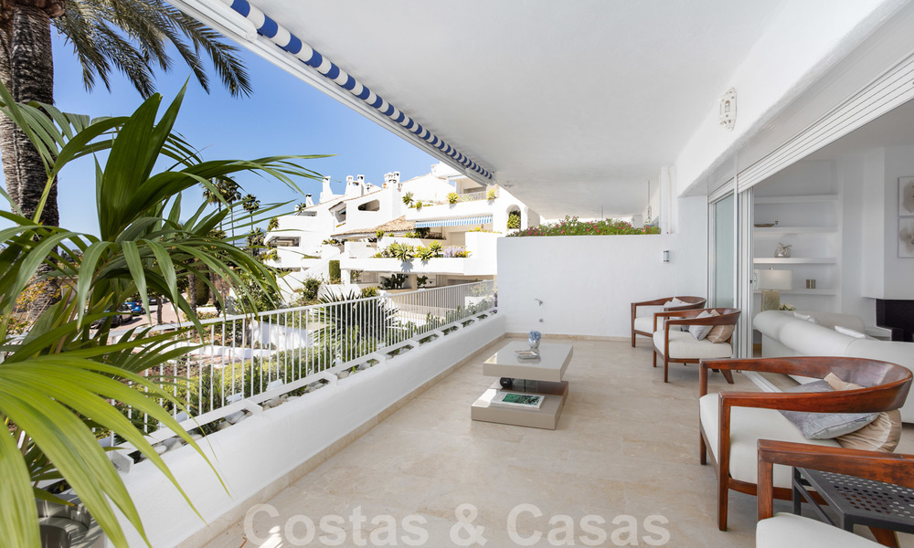 Superb luxury penthouse apartment for sale, with fantastic sea views and within walking distance to the beach, East Marbella 22240