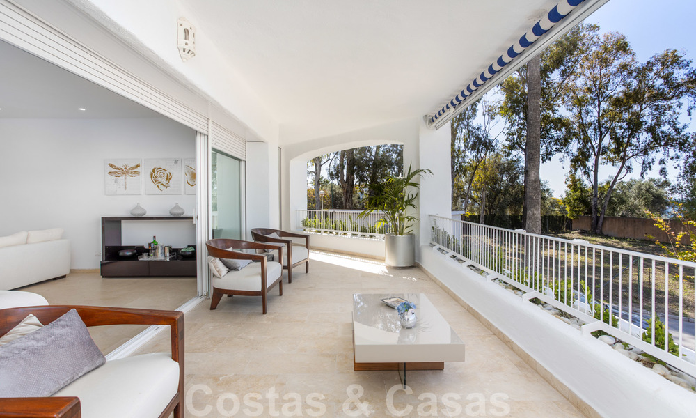 Superb luxury penthouse apartment for sale, with fantastic sea views and within walking distance to the beach, East Marbella 22241
