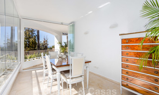 Superb luxury penthouse apartment for sale, with fantastic sea views and within walking distance to the beach, East Marbella 22243