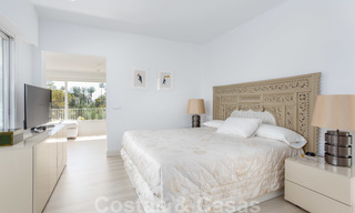 Superb luxury penthouse apartment for sale, with fantastic sea views and within walking distance to the beach, East Marbella 22256
