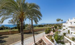 Superb luxury penthouse apartment for sale, with fantastic sea views and within walking distance to the beach, East Marbella 22261