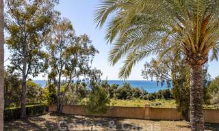 Superb luxury penthouse apartment for sale, with fantastic sea views and within walking distance to the beach, East Marbella 22263