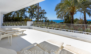 Superb luxury penthouse apartment for sale, with fantastic sea views and within walking distance to the beach, East Marbella 22265
