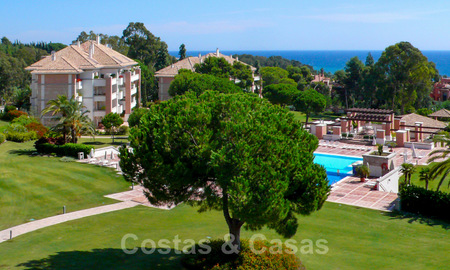 La Trinidad: Timeless luxury apartments for sale with sea views on the Golden Mile, between Puerto Banus and Marbella 22613