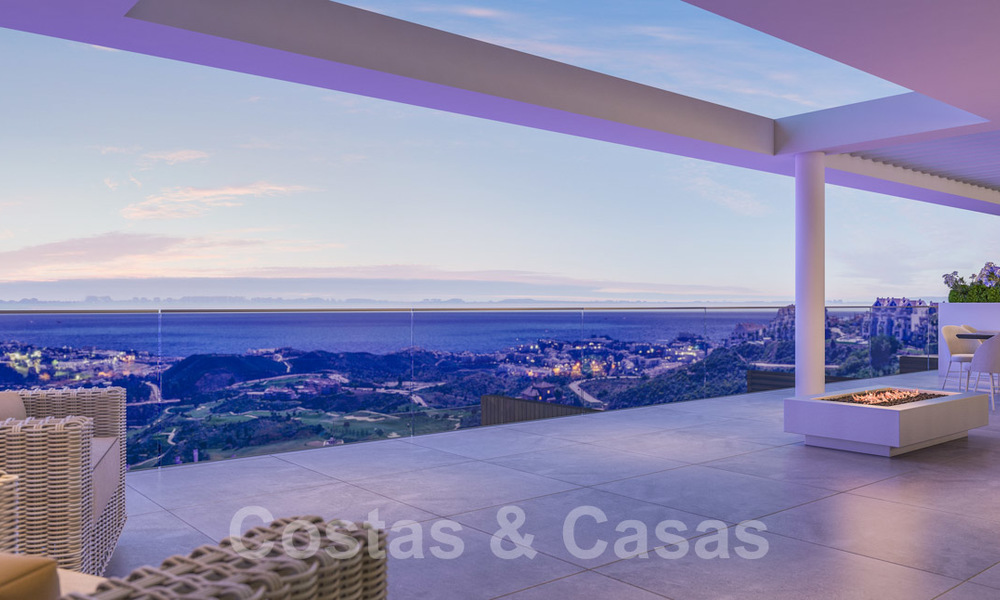 Modern apartments in exclusive boutique resort with Spa, at the golf, with magnificent sea views, La Cala de Mijas - Costa del Sol 23240