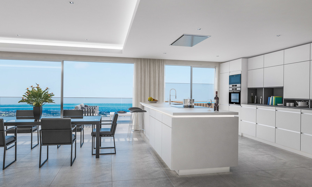 Modern apartments in exclusive boutique resort with Spa, at the golf, with magnificent sea views, La Cala de Mijas - Costa del Sol 23242