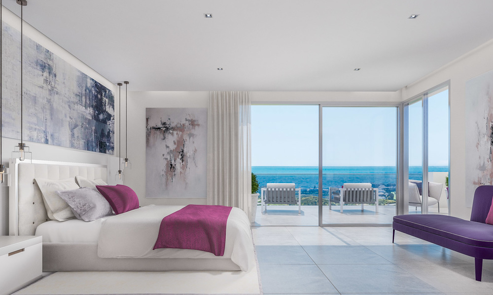 Modern apartments in exclusive boutique resort with Spa, at the golf, with magnificent sea views, La Cala de Mijas - Costa del Sol 23243