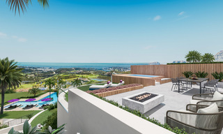 Modern apartments in exclusive boutique resort with Spa, at the golf, with magnificent sea views, La Cala de Mijas - Costa del Sol 23250