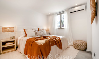 Beautifully renovated Ibiza style semi-detached villa for sale, walking distance to the beach and centre of San Pedro - Marbella 23353
