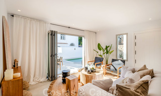 Beautifully renovated Ibiza style semi-detached villa for sale, walking distance to the beach and centre of San Pedro - Marbella 23366