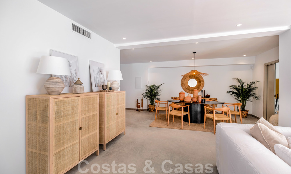 Beautifully renovated Ibiza style semi-detached villa for sale, walking distance to the beach and centre of San Pedro - Marbella 23370