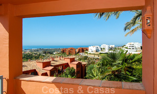 Luxury apartments for sale in Royal Flamingos with stunning views over the golf and sea in Marbella - Benahavis 23568