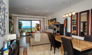 Luxury apartments for sale in Royal Flamingos with stunning views over the golf and sea in Marbella - Benahavis 23570
