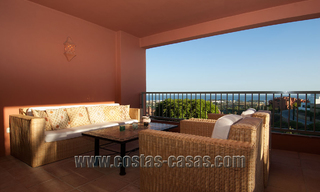Luxury apartments for sale in Royal Flamingos with stunning views over the golf and sea in Marbella - Benahavis 23588