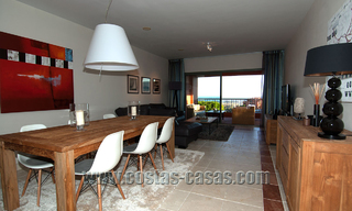 Luxury apartments for sale in Royal Flamingos with stunning views over the golf and sea in Marbella - Benahavis 23592