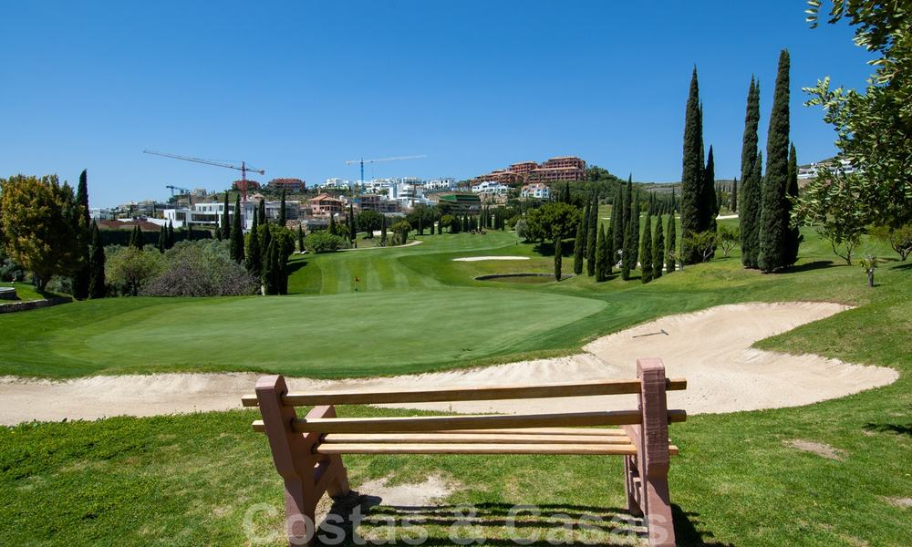 Luxury apartments for sale in Royal Flamingos with stunning views over the golf and sea in Marbella - Benahavis 23970