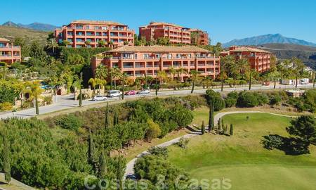 Luxury apartments for sale in Royal Flamingos with stunning views over the golf and sea in Marbella - Benahavis 24713