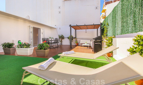 Renovated penthouse apartment in the heart of San Pedro, Marbella 23704