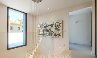 Ready to move into new modern luxury villa in gated and secured residential area for sale in Nueva Andalucia, Marbella. Open to reasonable offers! 23671