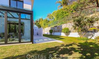 Ready to move into new modern luxury villa in gated and secured residential area for sale in Nueva Andalucia, Marbella. Open to reasonable offers! 23673