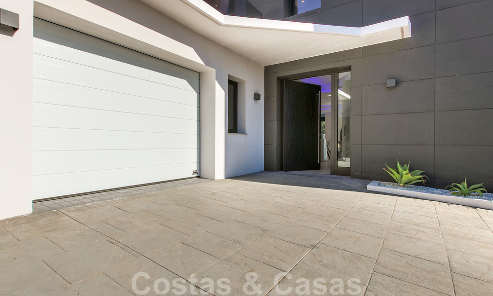 Ready to move into new modern luxury villa in gated and secured residential area for sale in Nueva Andalucia, Marbella. Open to reasonable offers! 23681