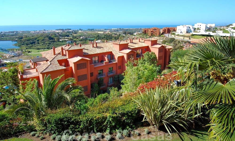 Luxury apartments for sale with gorgeous views over the golf and sea in Marbella - Benahavis 23707